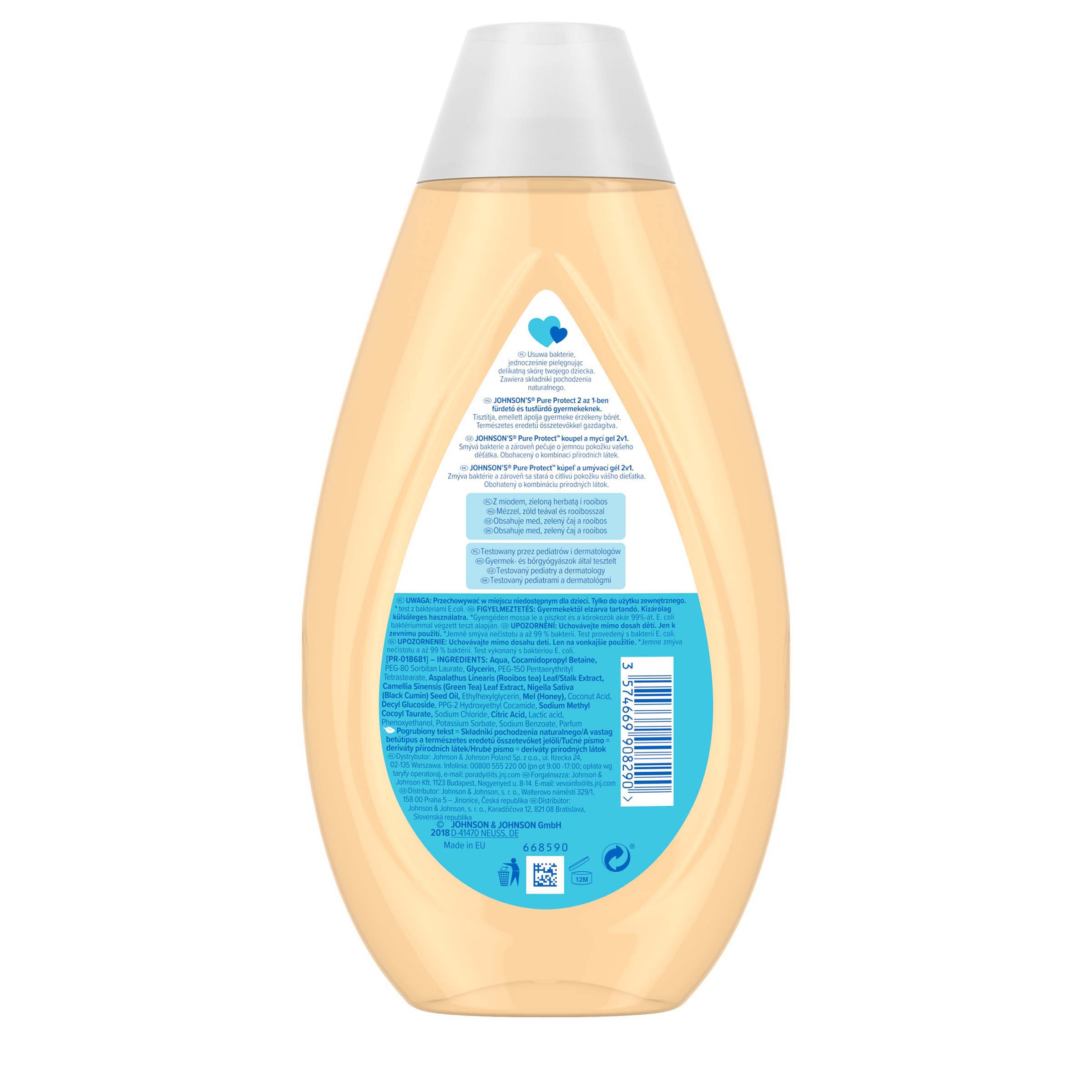 Pure Protect™ 2in1 tusfurdo 500ml