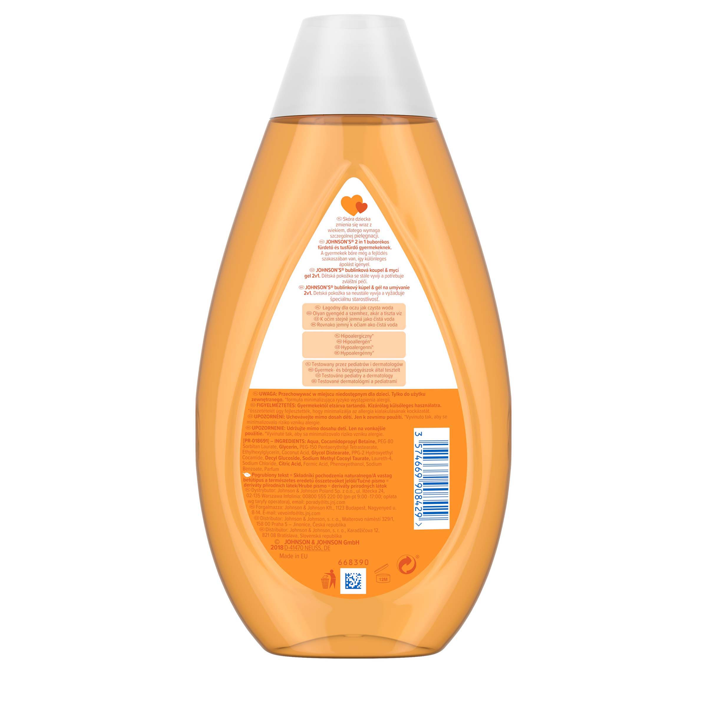 Buborekos 2in1 tusfur 500ml